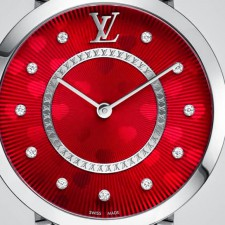 Tambour Monogram Saint Valentin 33mm By Louis Vuitton
