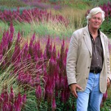 "Piet Oudolf, landscape architect, author of the famous ""high line"" of New York, a guest at the IUAV"