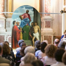 Conservation of Saint Mark Enthroned Now Complete - by Save Venice