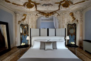 George Clooney's Alcova Tiepolo Suite at the Aman Canal Grande
